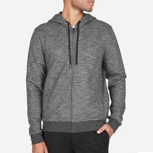 Men's everlane zip hoodie in gray